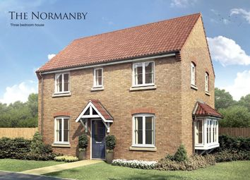 Thumbnail 3 bed detached house for sale in The Normanby, Boston Gate, Sibsey Road, Boston