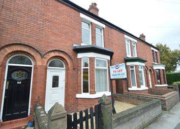 Thumbnail 2 bed terraced house to rent in Moss Road, Winnington, Northwich, Cheshire