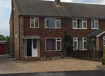 Thumbnail 3 bed semi-detached house to rent in Fullerton Road, Byfleet