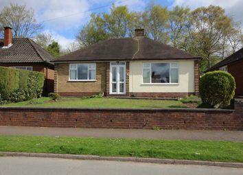 Thumbnail 3 bed detached bungalow for sale in Campbell Avenue, Leek, Staffordshire