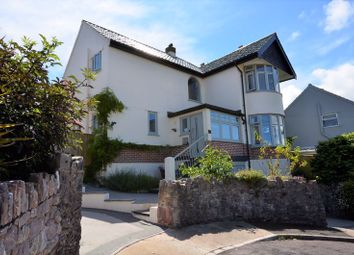 Thumbnail 4 bed detached house for sale in Greenbank Road, Brixham
