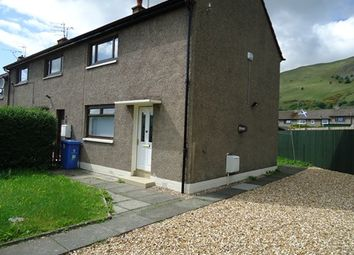 Thumbnail 2 bed end terrace house to rent in Cunninghar Drive, Tillicoultry