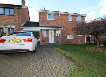 Thumbnail 3 bedroom detached house for sale in Penhale Drive, Hucknall, Nottingham