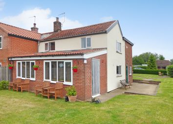 Thumbnail 3 bed semi-detached house for sale in Common Road, Aldeby, Beccles