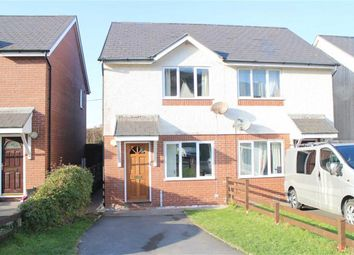 Thumbnail 2 bed semi-detached house for sale in Pen Y Cei, Felin Y Mor Road, Aberystwyth