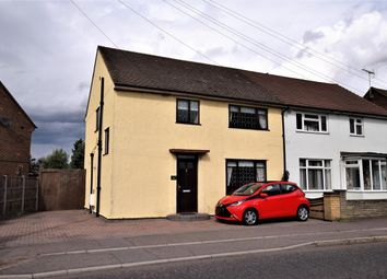 Thumbnail 3 bed semi-detached house for sale in Stifford Road, South Ockendon