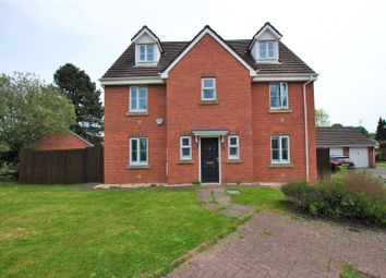 Thumbnail 6 bed detached house for sale in Wentloog Rise, Castleton, Cardiff