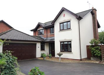 Thumbnail 4 bed detached house for sale in East Lynne Gardens, Caerleon, Newport