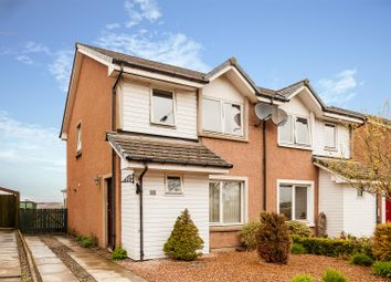 Thumbnail 3 bed semi-detached house for sale in Main Road, Aberuthven, Auchterarder