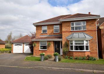 Thumbnail 4 bed detached house for sale in Hambleton Close, Oakham
