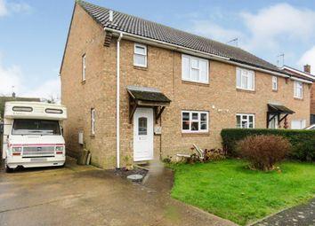 Thumbnail 3 bedroom semi-detached house for sale in Glebe Road, Stilton, Peterborough