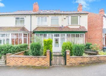 Thumbnail 4 bed semi-detached house for sale in Beechwood Road, Kings Heath, Birmingham, West Midlands