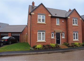 Thumbnail 4 bed detached house for sale in Plum Crescent, Hinckley