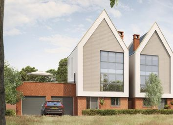"Thumbnail 4 bed detached house for sale in ""Delamere"" at Gimson Crescent, Tadpole Garden Village, Swindon"
