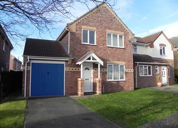 Thumbnail 3 bed detached house for sale in Acacia Close, Sleaford