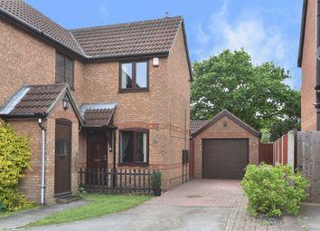 Thumbnail 2 bed semi-detached house for sale in Goodrington Road, Oakwood, Derby