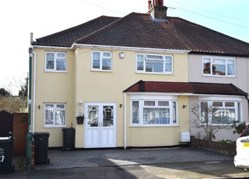 Thumbnail 4 bed semi-detached house for sale in Carrington Road, Dartford