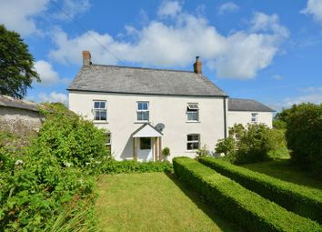 Thumbnail 5 bed detached house for sale in Milton Damerel, Devon