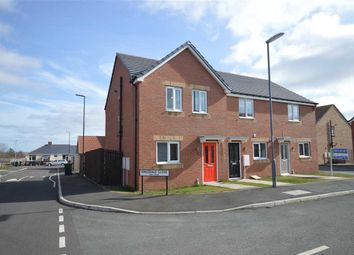 Thumbnail 3 bed link-detached house for sale in Kingsdale Close, Catchgate, Stanley