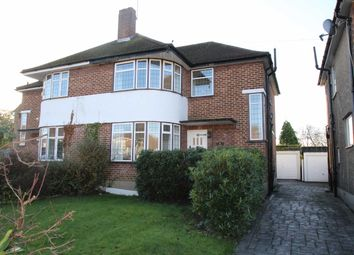 Thumbnail 3 bedroom semi-detached house to rent in Broadcroft Road, Petts Wood, Orpington