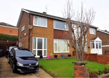 Thumbnail 3 bed semi-detached house for sale in Meynell Mount, Rothwell