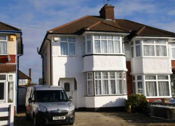 Thumbnail 3 bed semi-detached house to rent in Winchester Avenue, London