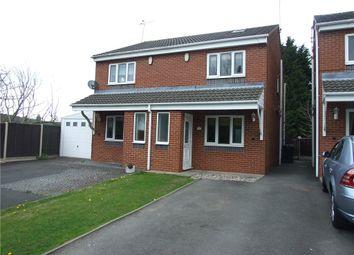 Thumbnail 2 bedroom semi-detached house for sale in Arthurs View, Vicarage Lane, Codnor Park, Ironville, Nottingham