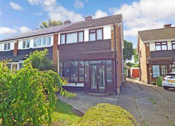 Thumbnail 3 bed semi-detached house for sale in Knightbridge Walk, Billericay, Essex