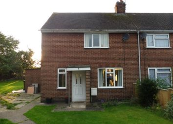 Thumbnail 2 bed end terrace house for sale in Coronation Crescent, Rocester, Uttoxeter
