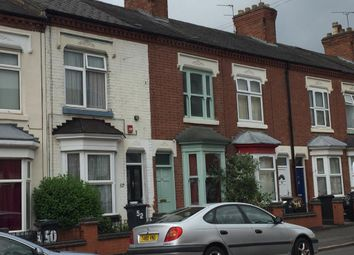 Thumbnail 2 bed terraced house to rent in Cranmer Street, Leicester