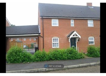 Thumbnail 3 bed semi-detached house to rent in The Pines, Cringleford, Norwich
