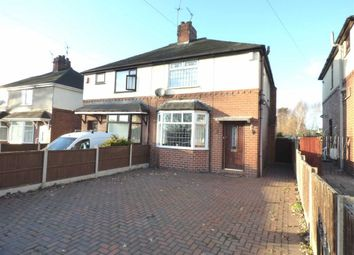 Thumbnail 3 bed semi-detached house for sale in Church Lane, Knutton, Newcastle-Under-Lyme