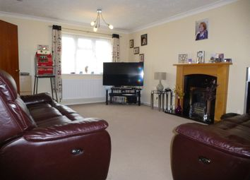 Thumbnail 3 bed detached bungalow for sale in Woodhall Close, West Hunsbury, Northampton