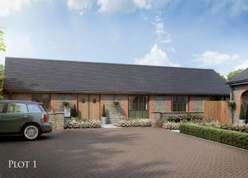 Thumbnail 3 bedroom detached house for sale in The Courtyard, Main Road, Barleythorpe, Oakham