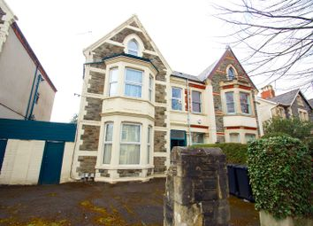 Thumbnail 1 bed flat to rent in Oakfield Street, Roath, Cardiff