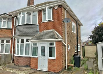 Thumbnail 3 bed semi-detached house for sale in Rosetree Avenue, Birstall, Leicester