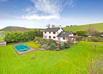 Thumbnail 5 bedroom detached house for sale in Hookway, Crediton