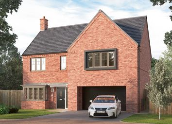 "Thumbnail 4 bed detached house for sale in ""The Welbury"" at Corner Farm, Luke Lane, Brailsford, Ashbourne"