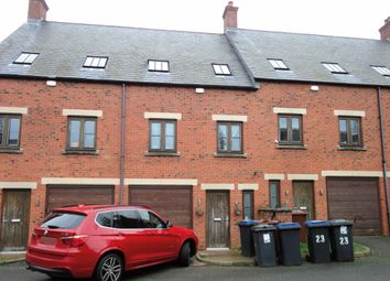 Thumbnail 4 bed town house for sale in 21 The Quarters, New Street, Hinckley, Leicestershire