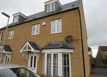 Thumbnail 4 bed semi-detached house for sale in Hare Lane, Cranfield, Bedford