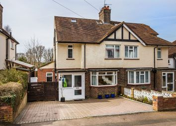 Thumbnail 4 bed semi-detached house for sale in Linnell Road, Redhill