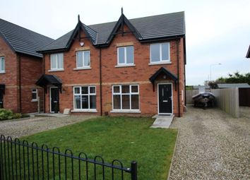 Thumbnail 3 bed semi-detached house to rent in Cotswold Gardens, Bangor