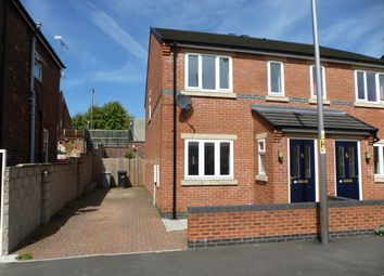 Thumbnail 3 bed mews house to rent in Browning Street, Crewe, Cheshire