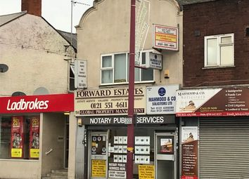 Thumbnail Commercial property to let in Soho Road, Handsworth, Birmingham