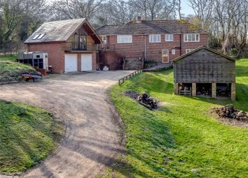 Thumbnail 4 bed detached house for sale in Stoke Hill, Stoke, Andover, Hampshire