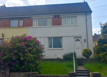 Thumbnail 3 bed semi-detached house to rent in Moorland Road, Cimla, Neath