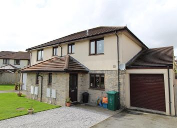 Thumbnail 3 bed semi-detached house for sale in Forth Gwedhen, Helston