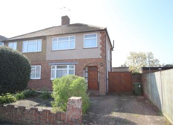 Thumbnail 3 bed semi-detached house for sale in Gilmore Crescent, Ashford, Surrey