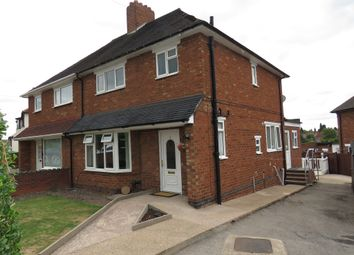 Thumbnail 4 bed semi-detached house for sale in Parkfield Crescent, Two Gates, Tamworth