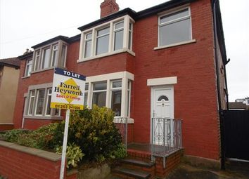 Thumbnail 3 bedroom property to rent in Waterfoot Avenue, Blackpool